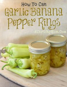 1000 images about canning on pinterest home canning - How to can banana peppers from your garden ...