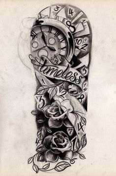 half sleeve tattoo designs. Custom Tattoos & Made to Order Tattoo Designs BAD ASS