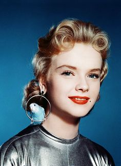 vintagegal:  Anne Francis in a publicity still for Forbidden Planet (1956)