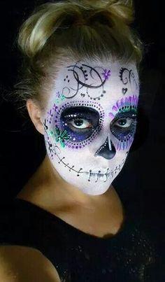 Maquillado para Catrina