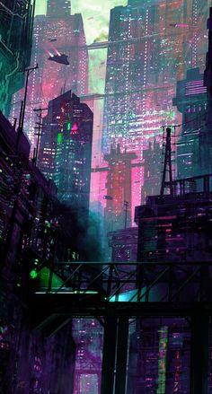 Unknown author 1 #cyberpunk2077 #cyberpunk2077conceptart #cyberpunk2077wallpapers #cyberpunk2077artworks #cyberpunk2077trailer #cyberpunk2077wallapaper #cyberpunk2077game #cyberpunk2077videogame Cyberpunk City, Cyberpunk Kunst, Cyberpunk Aesthetic, City Aesthetic, Futuristic City, Cyberpunk 2077, Cyberpunk Fashion, Cyberpunk Tattoo, Cyberpunk Games