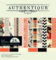 Authentique Thrilling 6x6 Bundle
