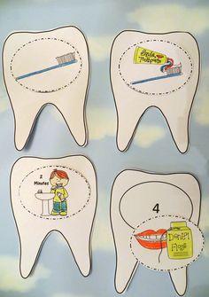 Libro cepillar los dientes