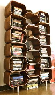 funky bookcase - Funky Bookshelves