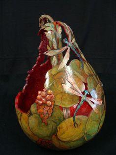 gourd bread basket  mariesartstudio.weebly.com
