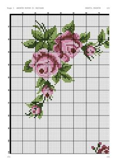 This Pin was discovered by Özl Cross Stitch Pillow, Just Cross Stitch, Cross Stitch Needles, Cross Stitch Flowers, Cross Stitch Charts, Cross Stitch Designs, Cross Stitch Patterns, Cross Stitching, Cross Stitch Embroidery