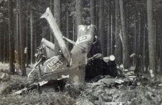 1943 plane crash near Zdar nad Sazavou