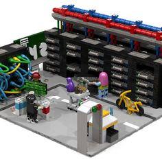 "Data Centre ""Bits And Bricks"" - The Minifigs' Network World Data, Rare Pictures, Lego Ideas, Bricks, Fun Facts, Centre, Style, Swag, Brick"