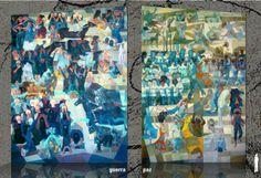 A Estrambólica Arte = ciência + tecnologia + arte: São Paulo recebe A Guerra e a Paz de Portinari