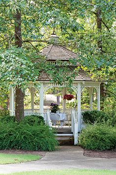 Garden Gazebo for an Alfresco Tea Party