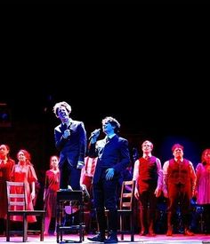 "and Jonathan Groff with fellow cast members in ""Spring Awakening. Theatre Geek, Musical Theatre, Theater, New York Times, Ny Times, Spring Awakening Musical, Hunger Games, The Little Mermaid, In The Heights"