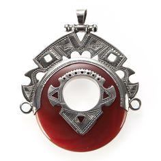 Pandantiv tuareg, argint și carneol, Sahara #metaphora #pendant #silverjewelry #carnelian #tuaregjewelry #sahara Michael Kors Watch, Watches, My Style, Accessories, Jewellery, Jewels, Wristwatches, Schmuck, Clocks