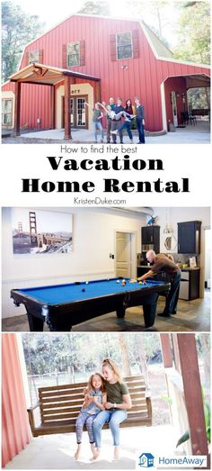 Our family loves staying at homes rather than a hotel. Our family vacations are a great way to get in some family bonding. #ad HomeAway Vacation Home Rental www.kristenduke.com
