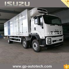 VC46 Isuzu Side open door refrigerated van trucks