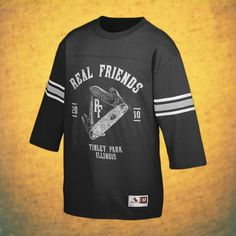 Swiss Black Old Style Football Jersey : FEAR : Fearless Records