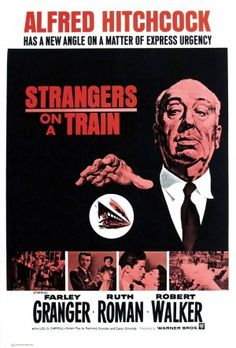 Strangers on a Train Movie Poster Alfred Hitchcock 9 Alfred Hitchcock, Hitchcock Film, Old Movies, Vintage Movies, Great Movies, Classic Movie Posters, Classic Movies, Classic Tv, Entertainment Weekly