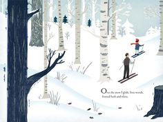 Chronicle Books is an independent publisher offering bestselling books, children's books, stationery, and gifts. Winter Illustration, Children's Book Illustration, Digital Illustration, All Black Cat, Black Cats, Snow Images, Open Book, Book Gifts, Writing A Book