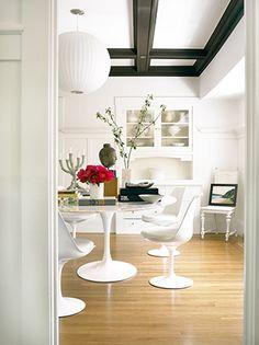 serene in white - Saarinen Tulip #white#saarinen#midcenturymodern