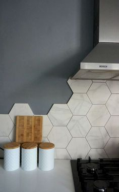 Hexagonal Wall Tiles from British Ceramic Tile Kit&; Hexagonal Wall Tiles from British Ceramic Tile Kit&; Marieluise Flantz kitchen Hexagonal Wall Tiles from British Ceramic Tile Kitchen […] wall Modern Kitchen Backsplash, Kitchen Tiles Design, Kitchen Wall Tiles, Kitchen Flooring, Tile Design, Backsplash Ideas, Kitchen Modern, Tile Ideas, Kitchen Splashback Ideas