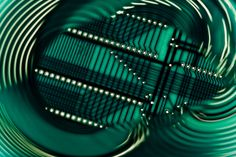 Photo : Electronic printed circuit board