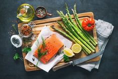 The key to a heart-healthy diet is to include more fish in your meals. Try our delicious and healthy fish recipes that star the best fish to eat. Heart Healthy Diet, Heart Healthy Recipes, Healthy Fats, Eating Healthy, Healthy Living, Crockpot, Mediterranean Diet Meal Plan, Salmon And Rice, Superfood Salad