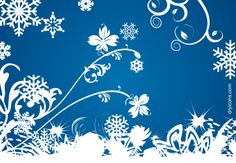 swirls n snowflakes on winter blue Winter Background, Vector Background, Paper Background, Background Patterns, Borders For Paper, Winter Photos, Winter Beauty, Free Graphics, Noel Christmas