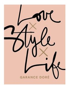 Love Style Life by Garance Doré Best Fashion Books, Love Fashion, Fashion Styles, Fashion Women, Fashion Trends, Fashion Tips, Love Style Life, Cool Style, Art And Illustration