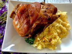 Nadziewana karkówka pieczona w kapuście - Blog z apetytem