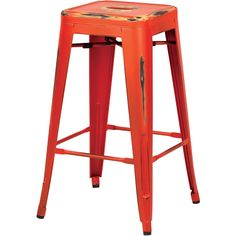 Enrich the style of your home or patio with this classic and nostalgic Bristow Collection Vintage Sheet Metal Barstool. Delightfully finished with an antique patina, this stool is built to withstand t