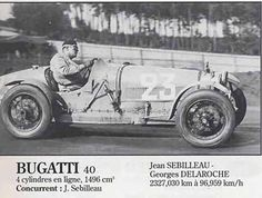 LE MANS 1932 - BUGATTI Type 40 #23