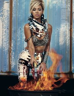 Beyonce Knowles by Sharif Hamza for Dazed & Confused