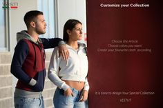Create your Collection, has never been so simple! http://vesti.it/it/