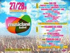 Al MusicLand Festival con TodoBus. ¿Quién se apunta? Dj, Madrid, Poster, Musica