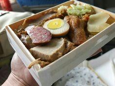 Lunch box on Train / 池上弁当 / 東海岸の鉄道の駅で買える駅弁