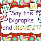 Review digraphs with built-in BRAIN BREAKS!  This gets them out of their seats to run in place, do jumping jacks, and more.  Animated timers and sound effects help you manage the fun!  $4