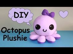 Coisas que Gosto: DIY Octopus Plushie!!! | with Free Templates
