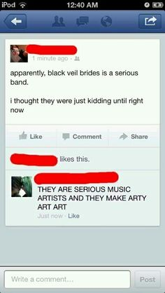 THEY ARE SERIOUS MUSIC ARTIST AND THEY MAKE ARTY ART ART<<OMG I can't stop laughing. Help me!