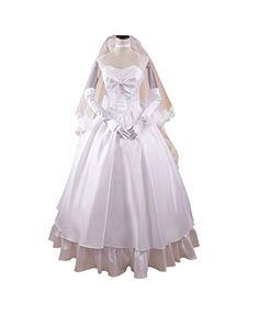 Brdwn Womens Cosplay Saber Lolita Dress Wedding Dress RO58LBust 95cm374in >>> Learn more by visiting the image link.