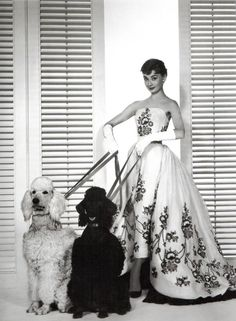Audrey in Vintage Givenchy