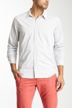 Simple untucked white shirt what men wear a men 39 s for Untucked shirts for sale