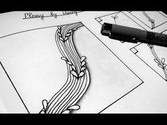 Fleavy by Hanny Waldburges Doodles Zentangles, Zentangle Patterns, My Doodle, Follow Me On Instagram, Inktober, Tangled, Tutorials, Drawings, Dibujo