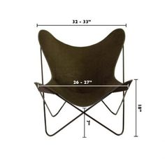 Butterfly Chairs: Butterfly Chair (cover U0026 Frame)   Canvas Style   Potted  Los Angeles