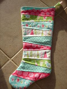 Okay... so I can't sew but I can learn (for these cute stockings!) or I could get Mary Kaye to help me!