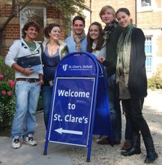 read this great article about the life at St. Clare's by Heleen de Jong: http://www.stclares.ac.uk/Life-at-St-Clares #ukboarding #best #boarding schools #uk #education #Brexit