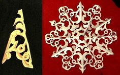 Paper Snowflakes Pattern 17