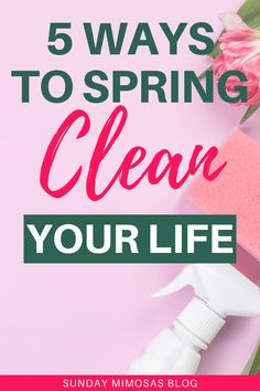 5 Genius spring cleaning tips for an organized life and home! These are the best ways to spring clean your life! Get your life organized this season with our best spring cleaning hacks. Spring cleaning and organizing, declutter your home and life, decluttering tips, organize your life. #springcleaning #cleaning Your Best Life Now, Get Your Life, Organize Your Life, Amazing Life Hacks, Simple Life Hacks, Useful Life Hacks, Healthy Lifestyle Motivation, Healthy Lifestyle Tips, Life Organization
