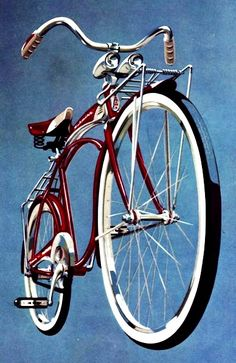 1959 Schwinn Panther II ~ we had to be eight and we would get one on our birthday!
