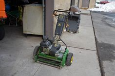 John Deere 220 A Walk Behind Greensmower - For Sale - TurfNet.com