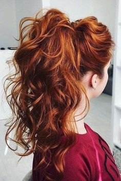 Are you looking for ginger hair color styles? See our collection full of ginger hair color styles and get inspired!