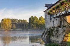 Brume matinale sur les bords du Loir !  Merci @villeveque pour ce beau partage et bonne journée à tous !